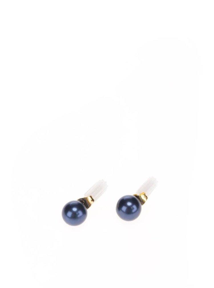 Cercei albastru inchis Pieces Chogan