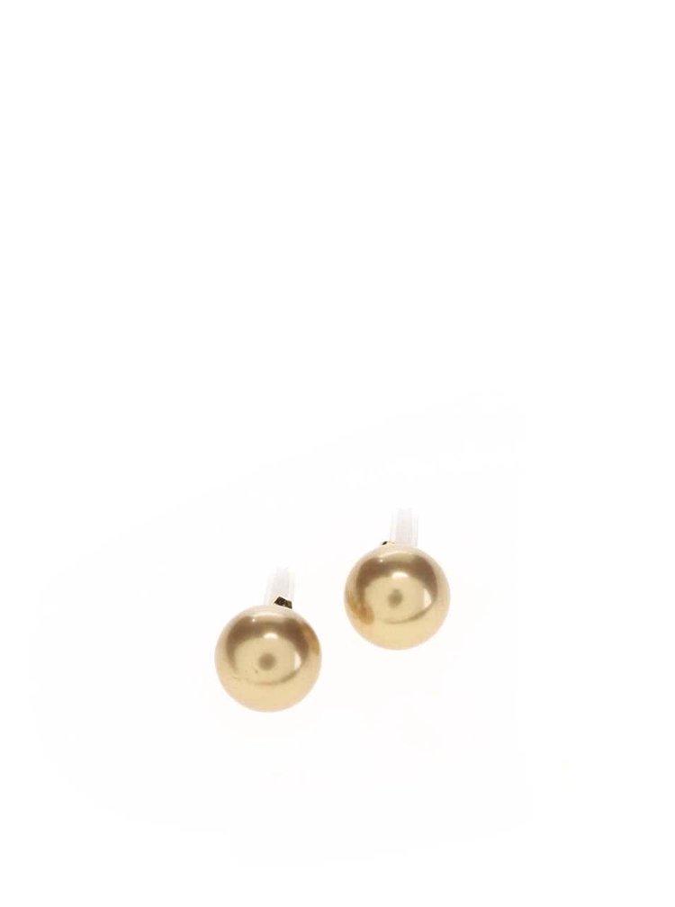 Náušnice ve zlaté barvě Pieces Hogan