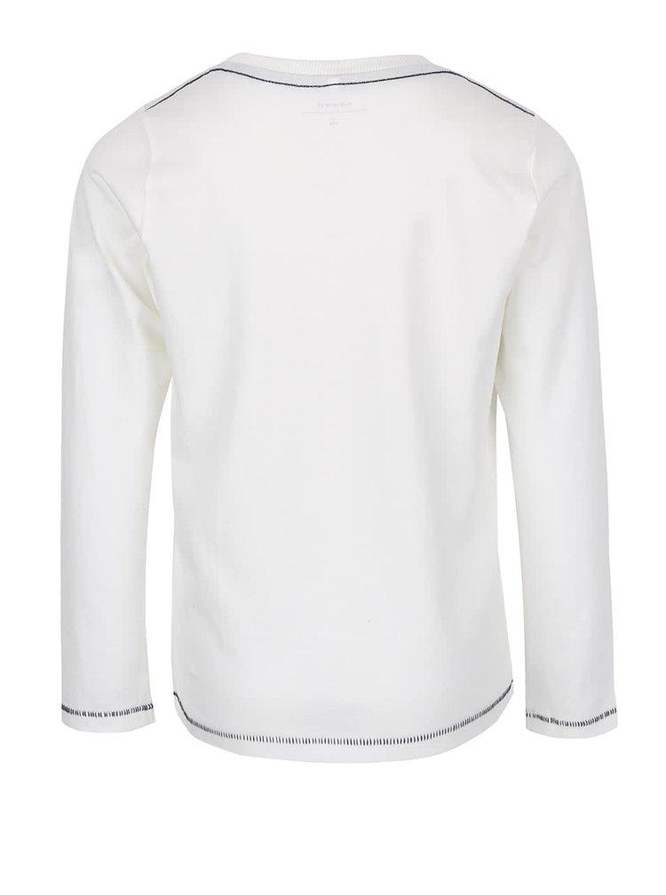 Krémové klučičí tričko name it Uno