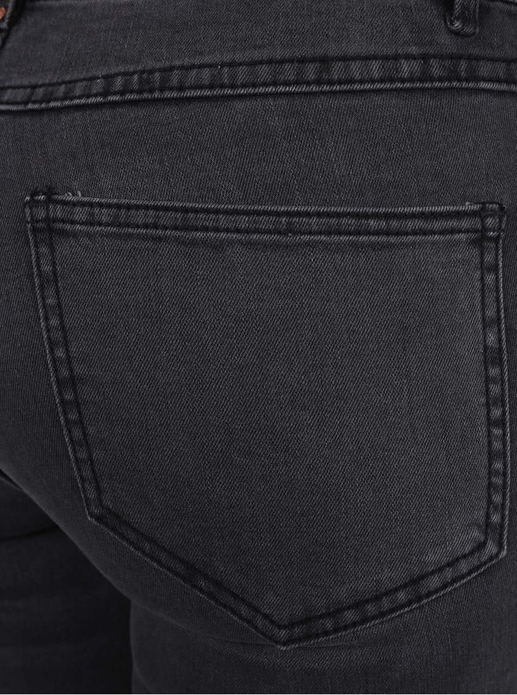 Tmavě šedé džíny VILA Crush