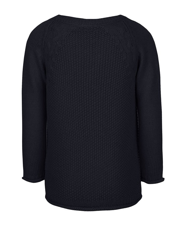 Tmavomodrý dievčenský sveter name it Barina