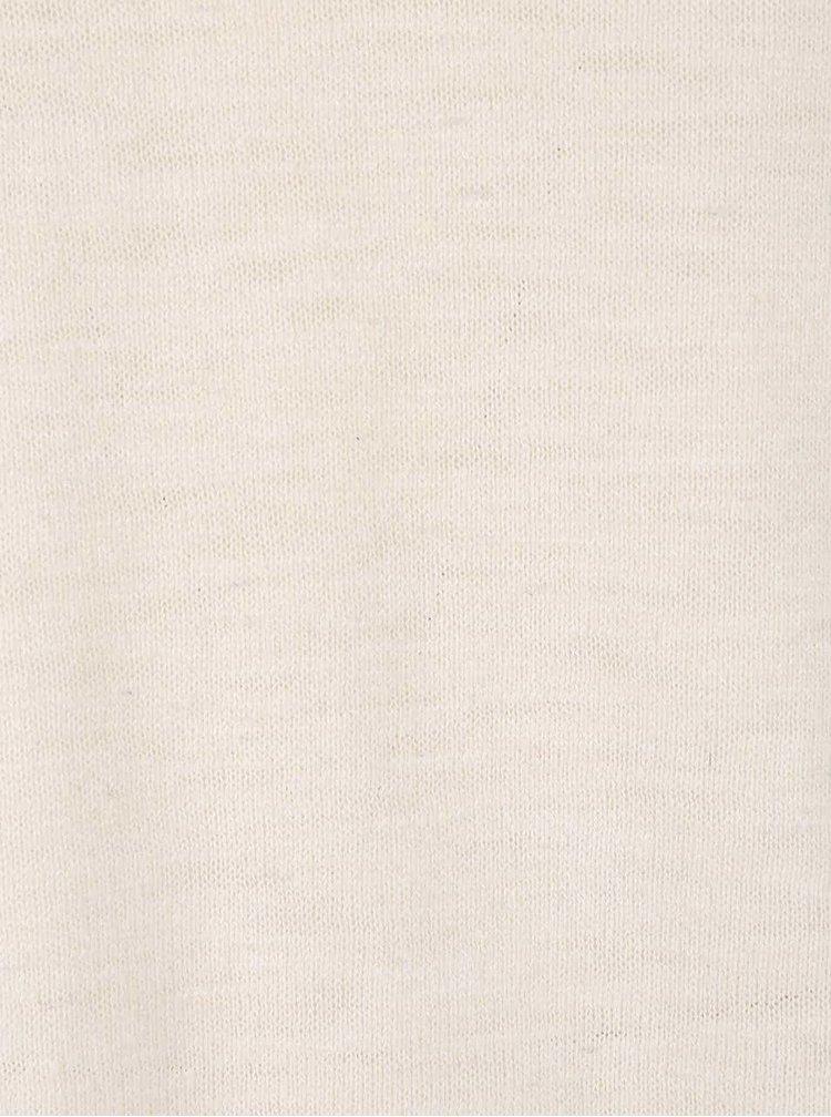 Krémový svetr Jack & Jones Slub