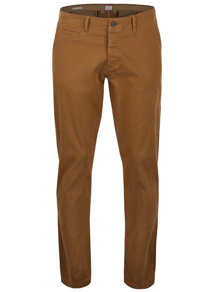 Světle hnědé kalhoty Jack & Jones Cody
