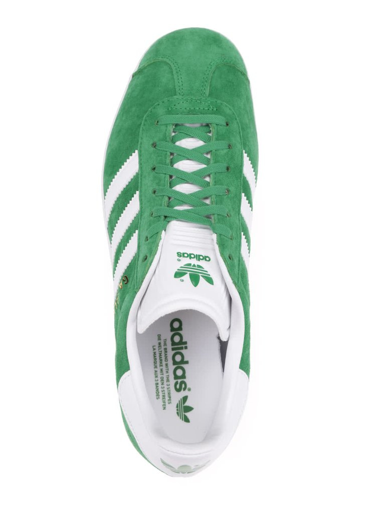 Pantofi sport verzi unisex adidas Originals Gazelle