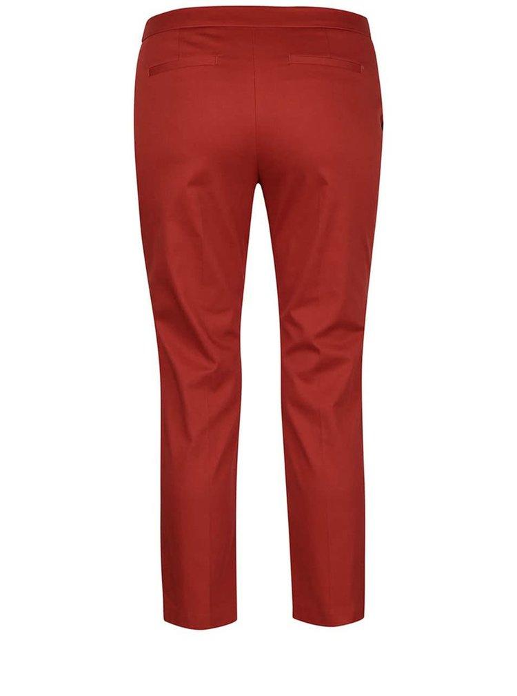 Cihlové formální kalhoty Dorothy Perkins