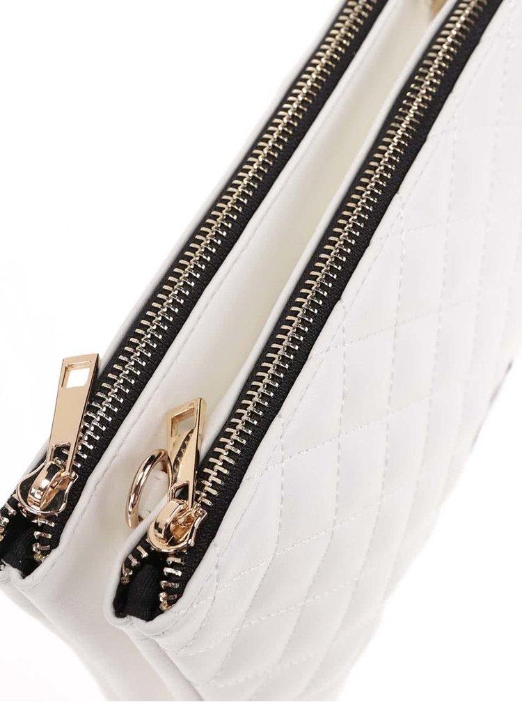 Krémová crossbody kabelka s retiazkou TALLY WEiJL