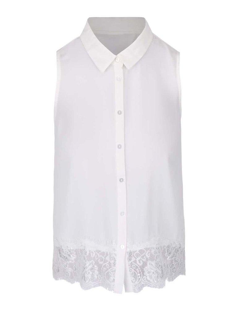 Camașă alb fildeș fără mâneci TALLY WEiJL