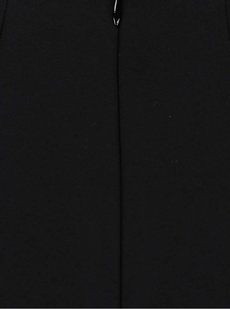 Čierno-biele kraťasy so vzorom TALLY WEiJL