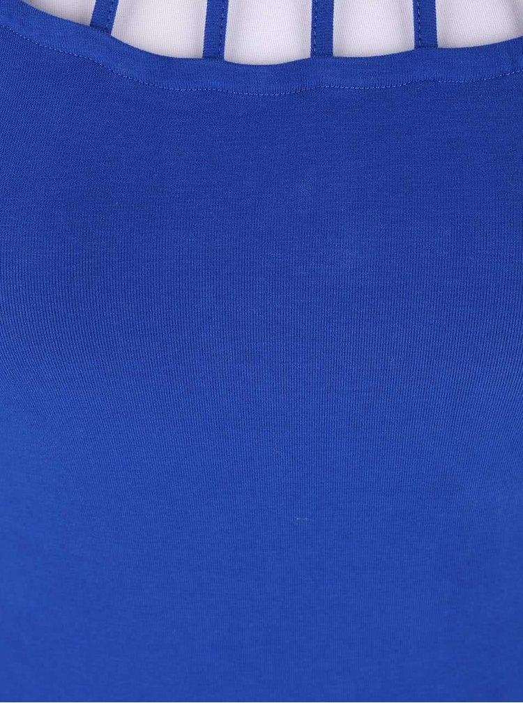 Rochie cu sireturi TALLY WEiJL albastra