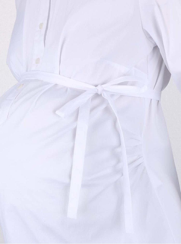 Biela tehotenská blúzka Mama.licious Ebba