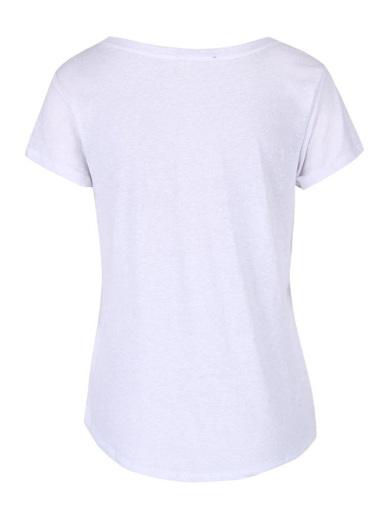 Bílé tričko s potiskem TALLY WEiJL Westin