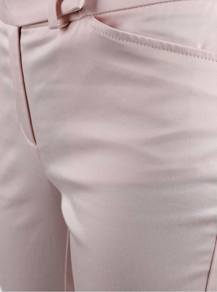 Světle růžové dámské chinos kalhoty Nautica