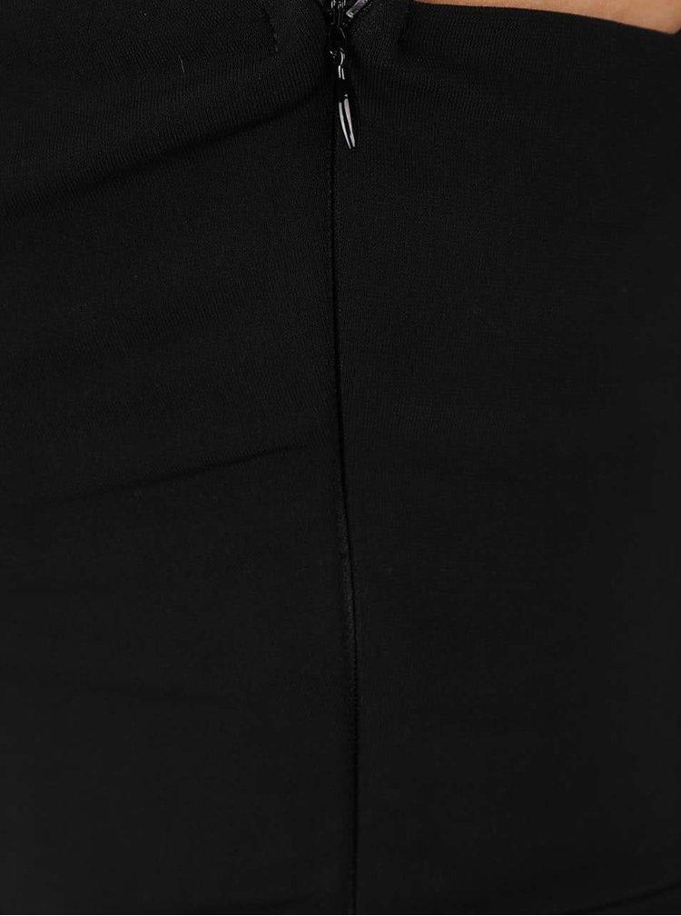 Černý overal s detailem ve výstřihu TALLY WEiJL