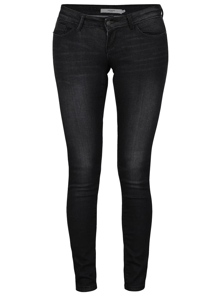 Blugi slim fit VERO MODA One cu aspect prespalat