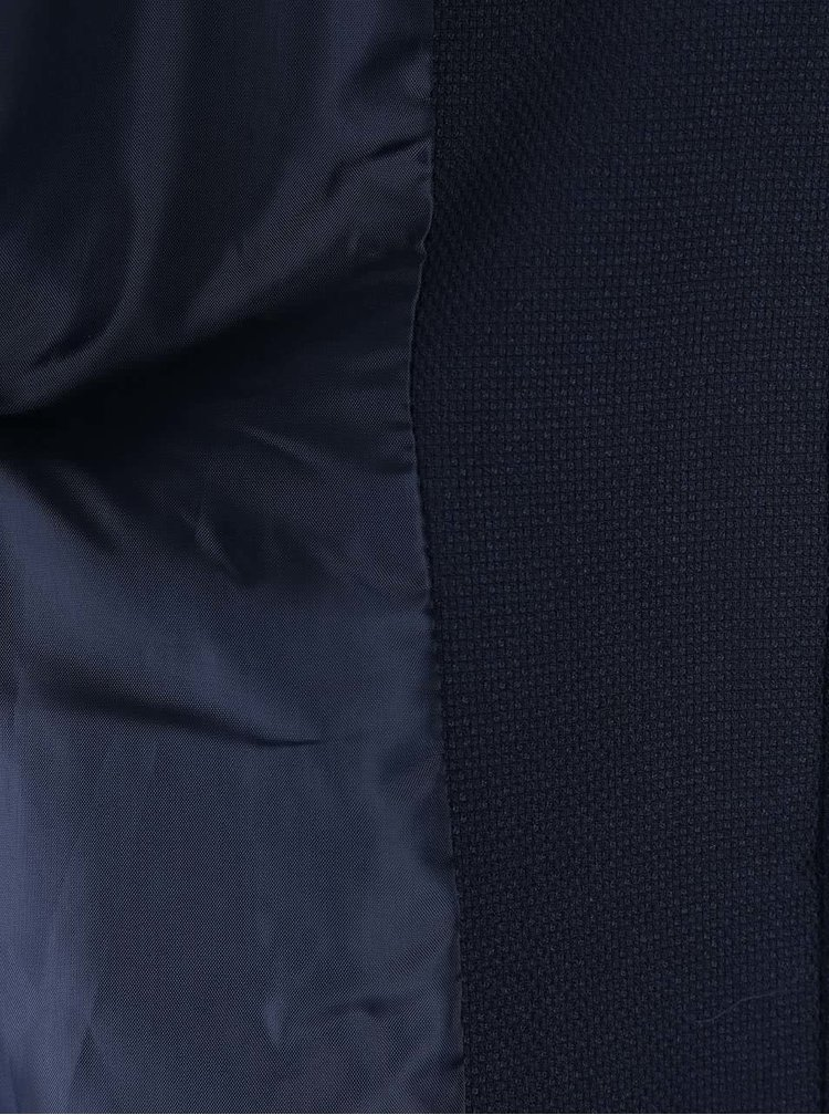 Tmavomodrý kabát VERO MODA Glory