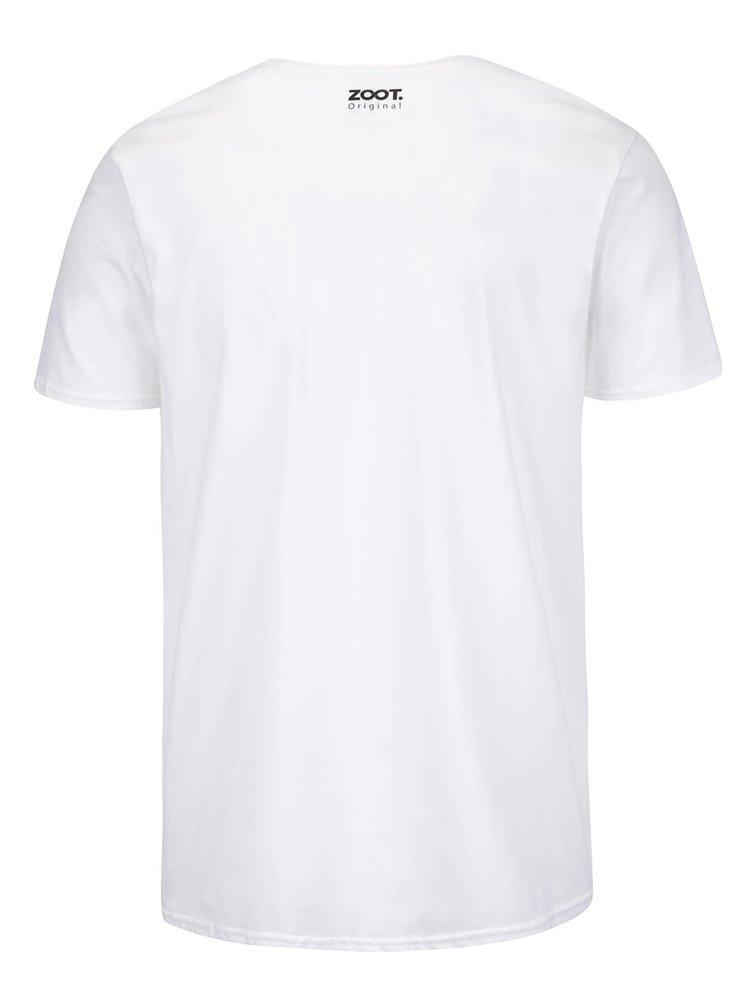 Bílé pánské triko ZOOT Originál Club 27