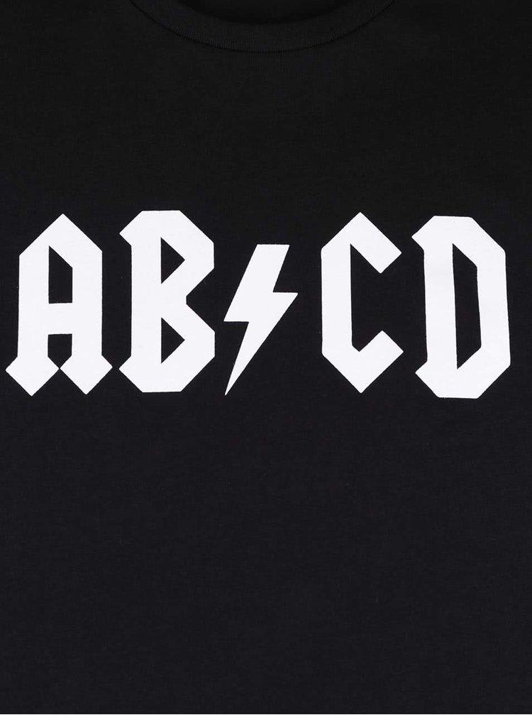 Černé pánské triko s potiskem ZOOT Originál ABCD