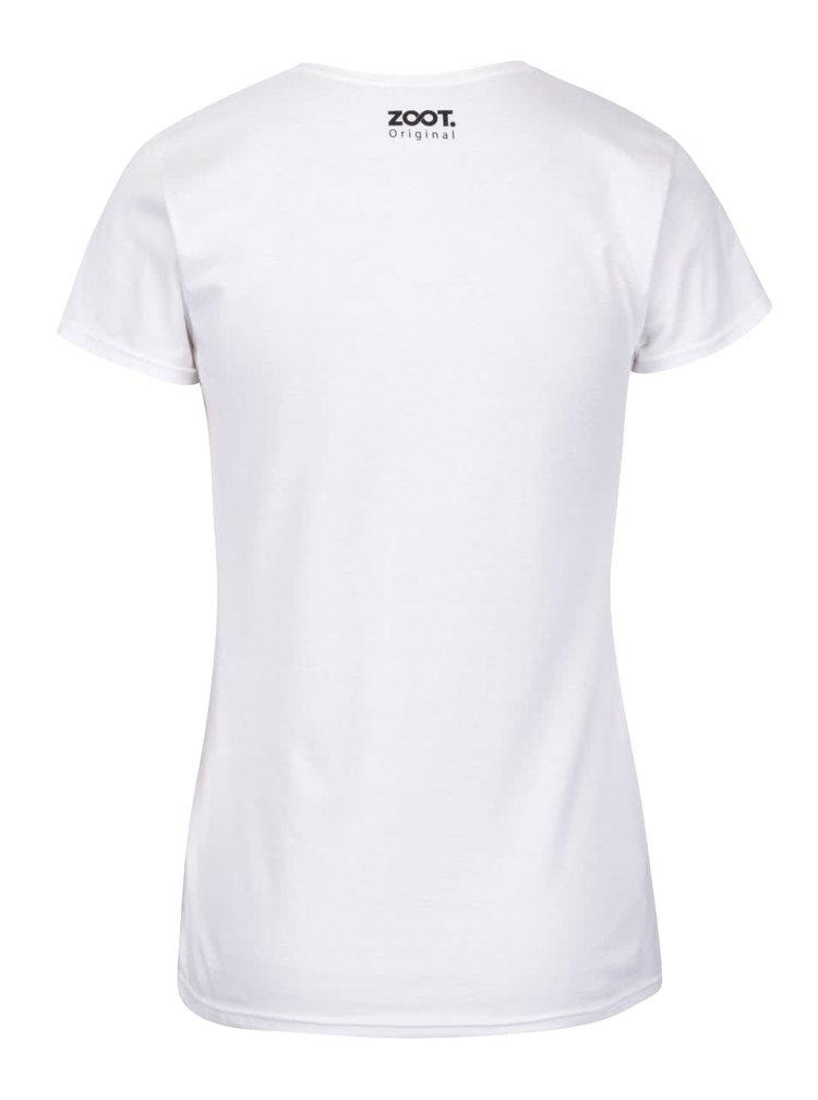 Biele dámske tričko ZOOT Originál Posledné čisté tričko