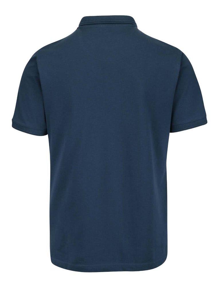 Modré polo triko Original Penguin Winston