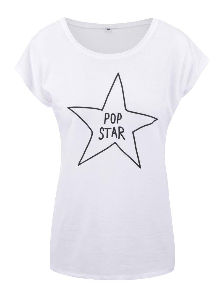 Biele dámske tričko ZOOT Originál Pop Star