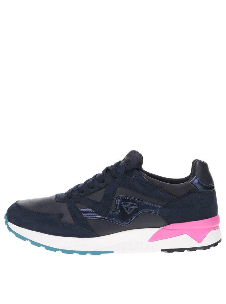 Pantofi sport albastru cu negru Tamaris
