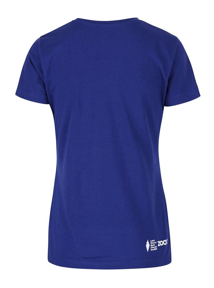 Modré dámské triko