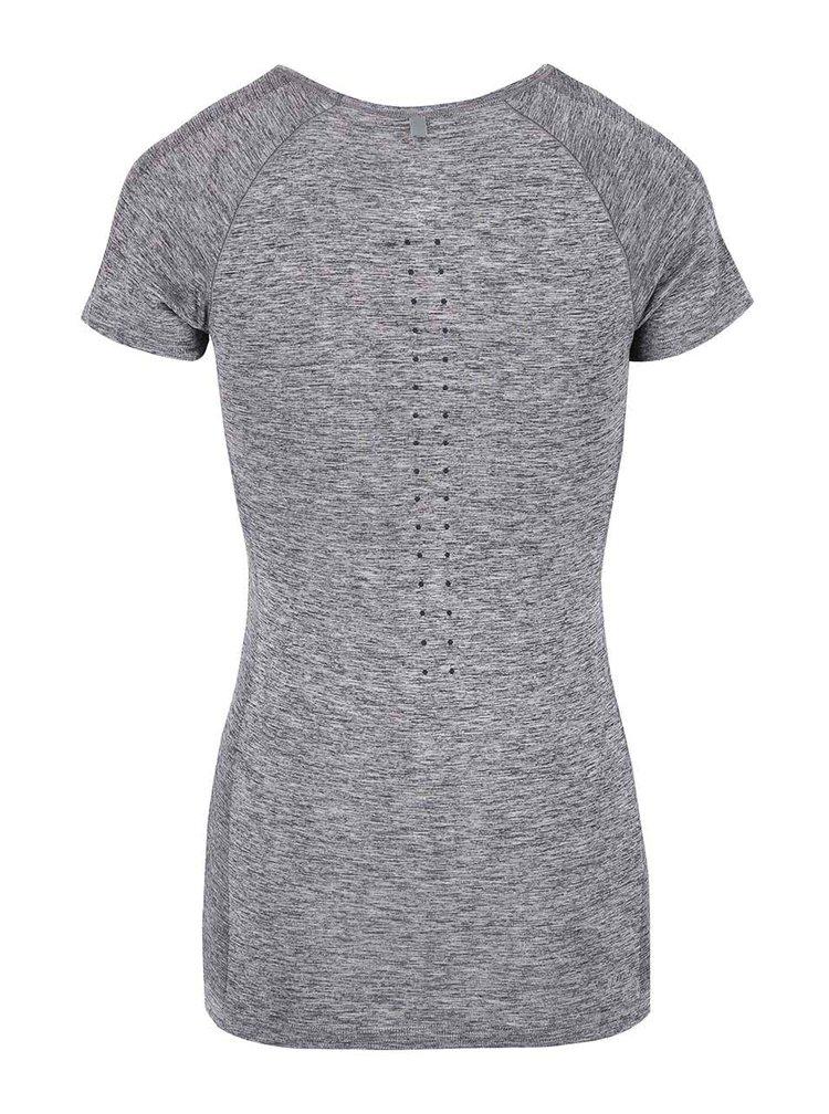 Tricou gri Nike Dri-Fit Knit cu cusaturi ergonomice