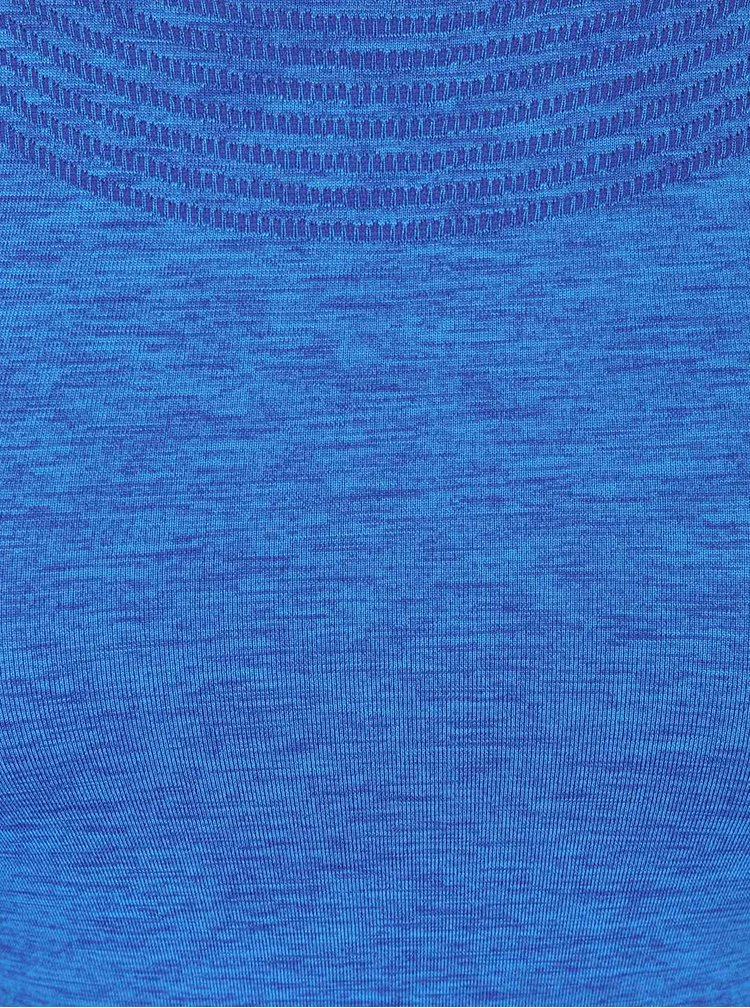 Modré dámské tričko Nike Dri-Fit Knit