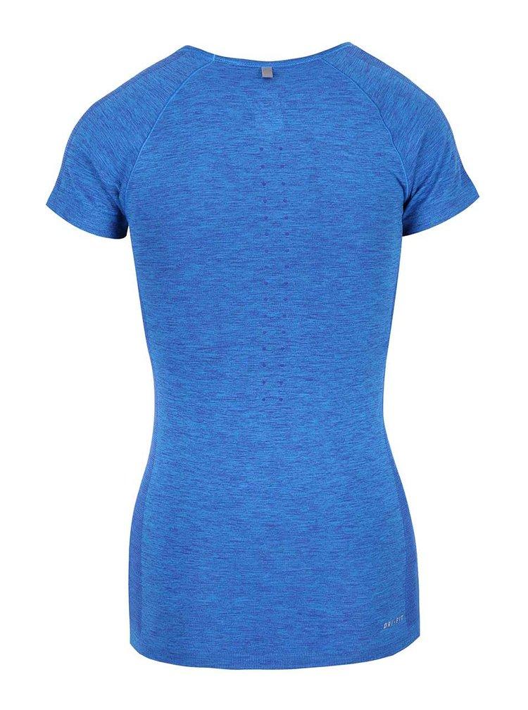Tricou albastru Nike Dri-Fit Knit