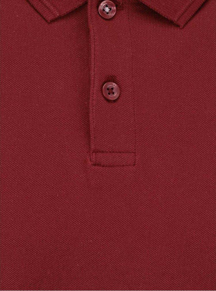 Triou polo roșu Original Penguin Winston