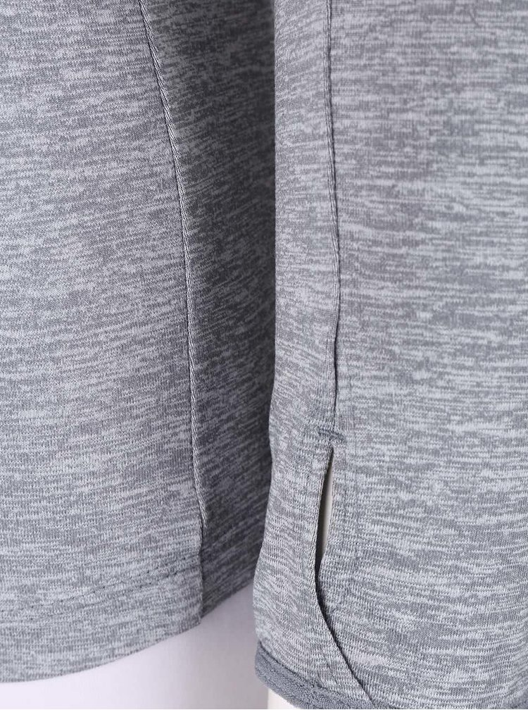 Šedá dámská mikina Nike Dry Element