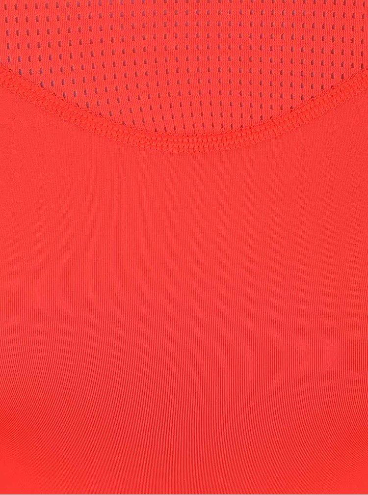 Tricou rosu Nike Pro Hypercool cu plasa