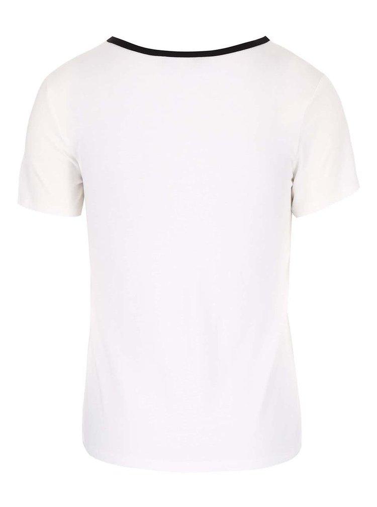 Krémové tričko Dorothy Perkins