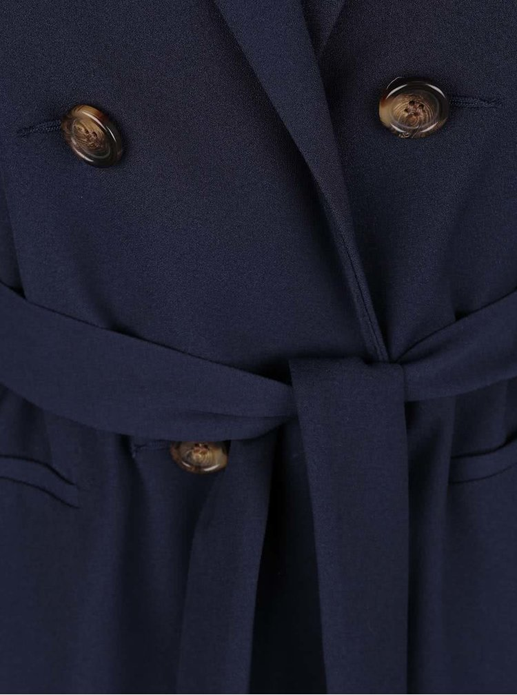 Trenci scurt albastru închis Dorothy Perkins