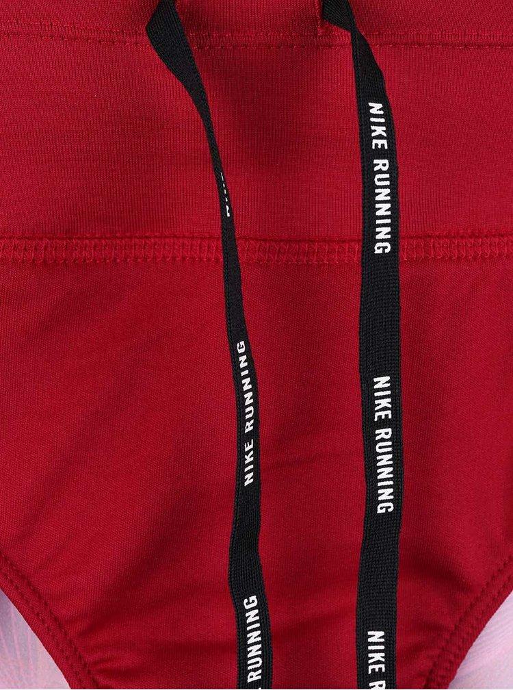 Červené dámské kraťasy Nike Flex