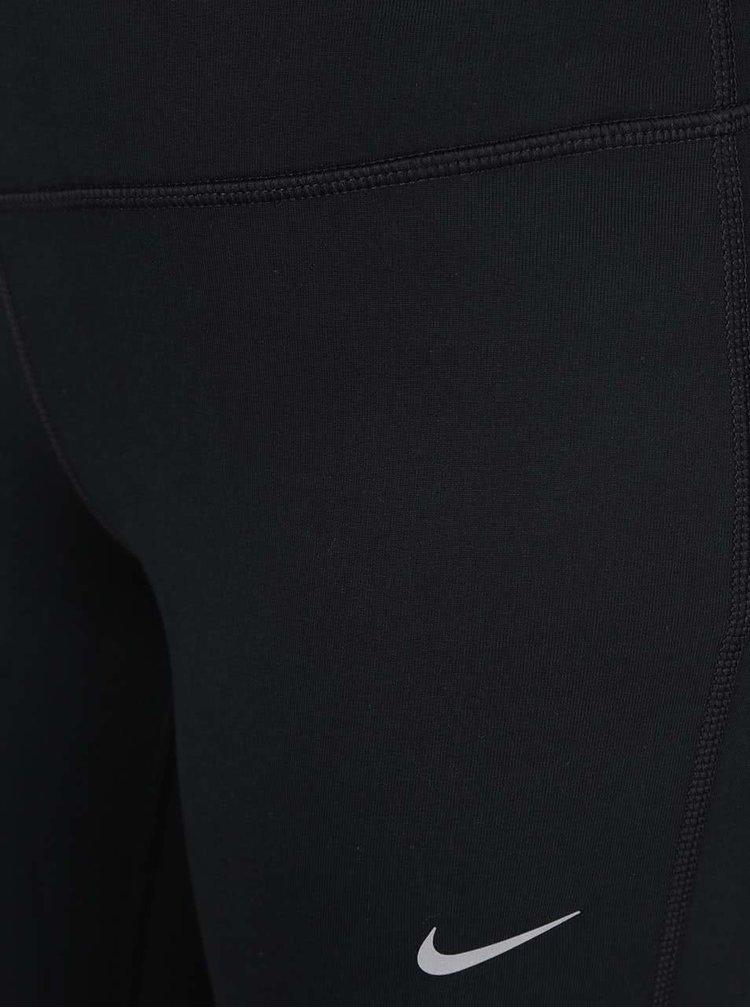 Černé dámské 3/4 legíny Nike DF Epic Run