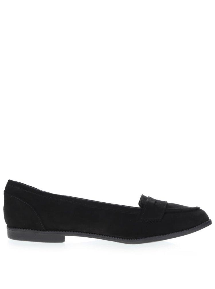 Pantofi loafer negri Dorothy Perkins