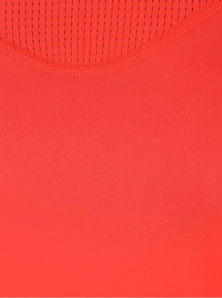 Top rosu Nike Pro Hypercool cu plasa