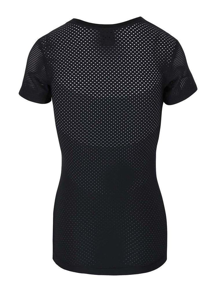 Tricou negru Nike Pro Hypercool cu plasă