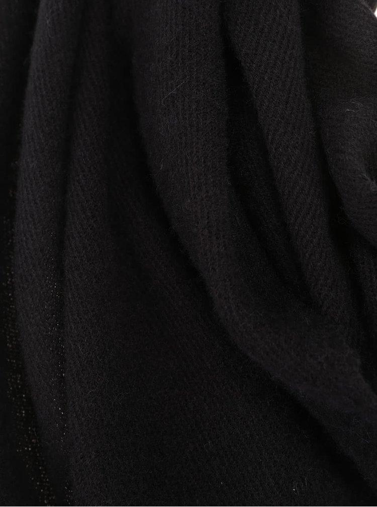 Černá šála VILA Amuse