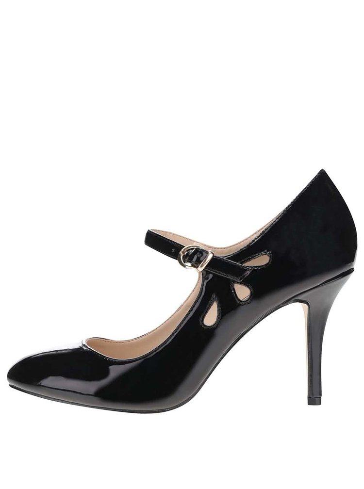 Pantofi Mary Jane din piele sintetica Dorothy Perkins