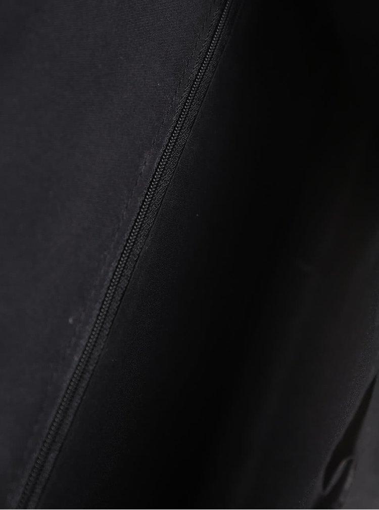 Čierna listová kabelka s retiazkou Dorothy Perkins