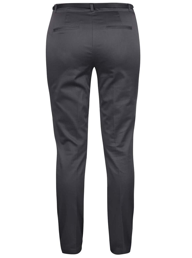 Pantaloni gri slim fit VERO MODA Roos