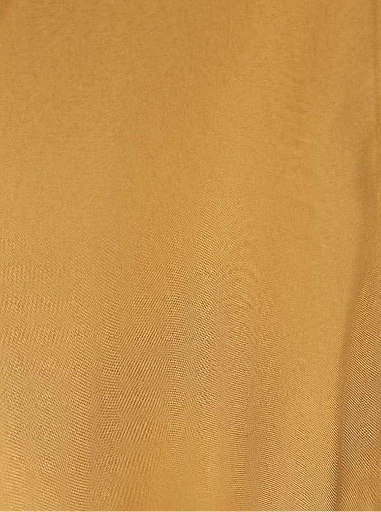 Bomber v zlatej farbe VILA Centri