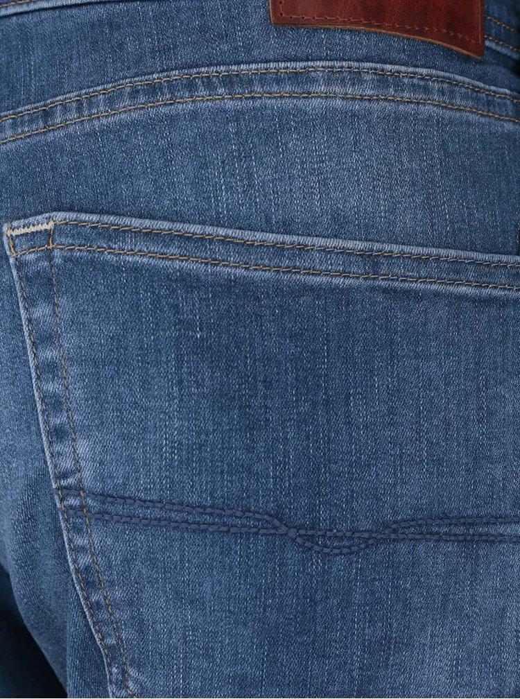 Svetlomodré pánske slim rifle Pepe Jeans Cane