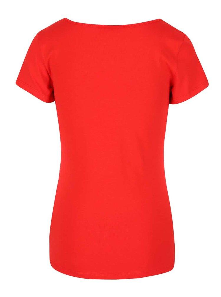Tricou roșu VERO MODA Maxi My