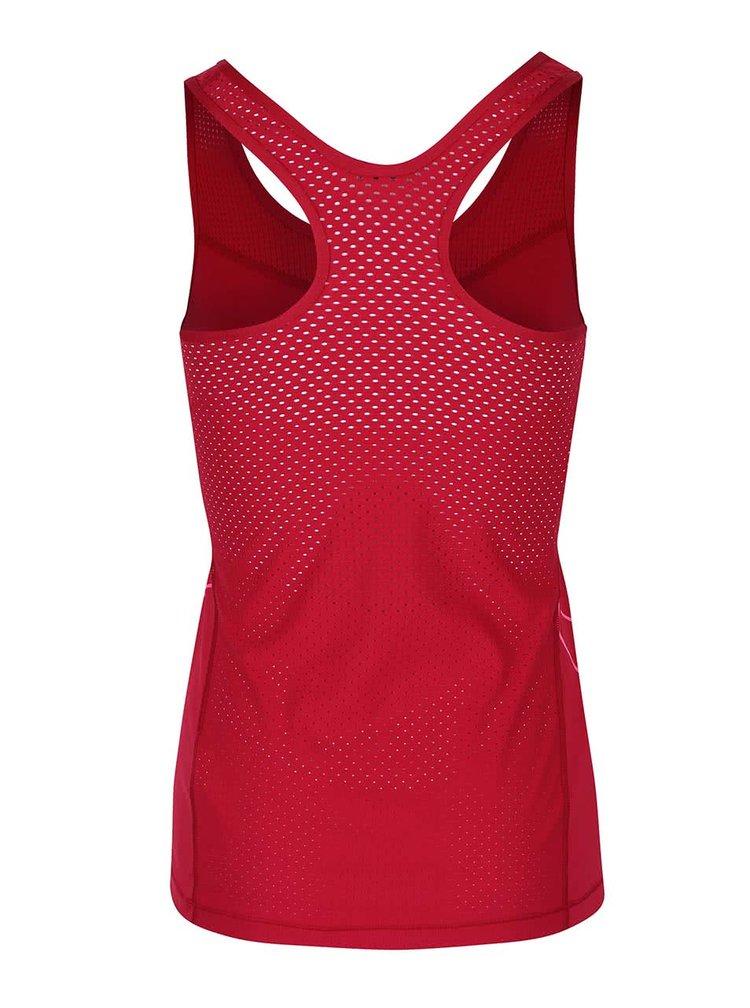 Top roșu Dri-Fit Nike cu imprimeu Nike
