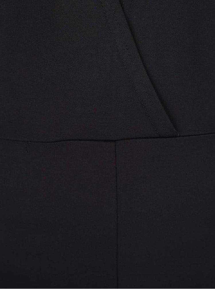 Rochie neagră cu mâneci lungi VERO MODA Kelly