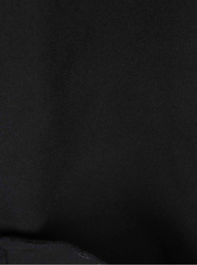 Čierny kabát VILA Ida