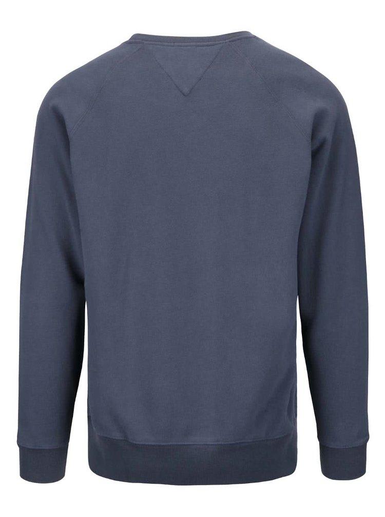 Modrosivá pánska mikina Pepe Jeans Zelus